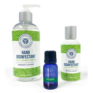Picture of Youngevity Hand Disinfectant – Essential Oil Bundle